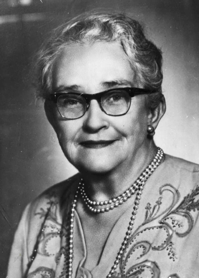 Senator Agnes Robertson, Country Party Candidate for the Senate in the 1955 Election (WA).