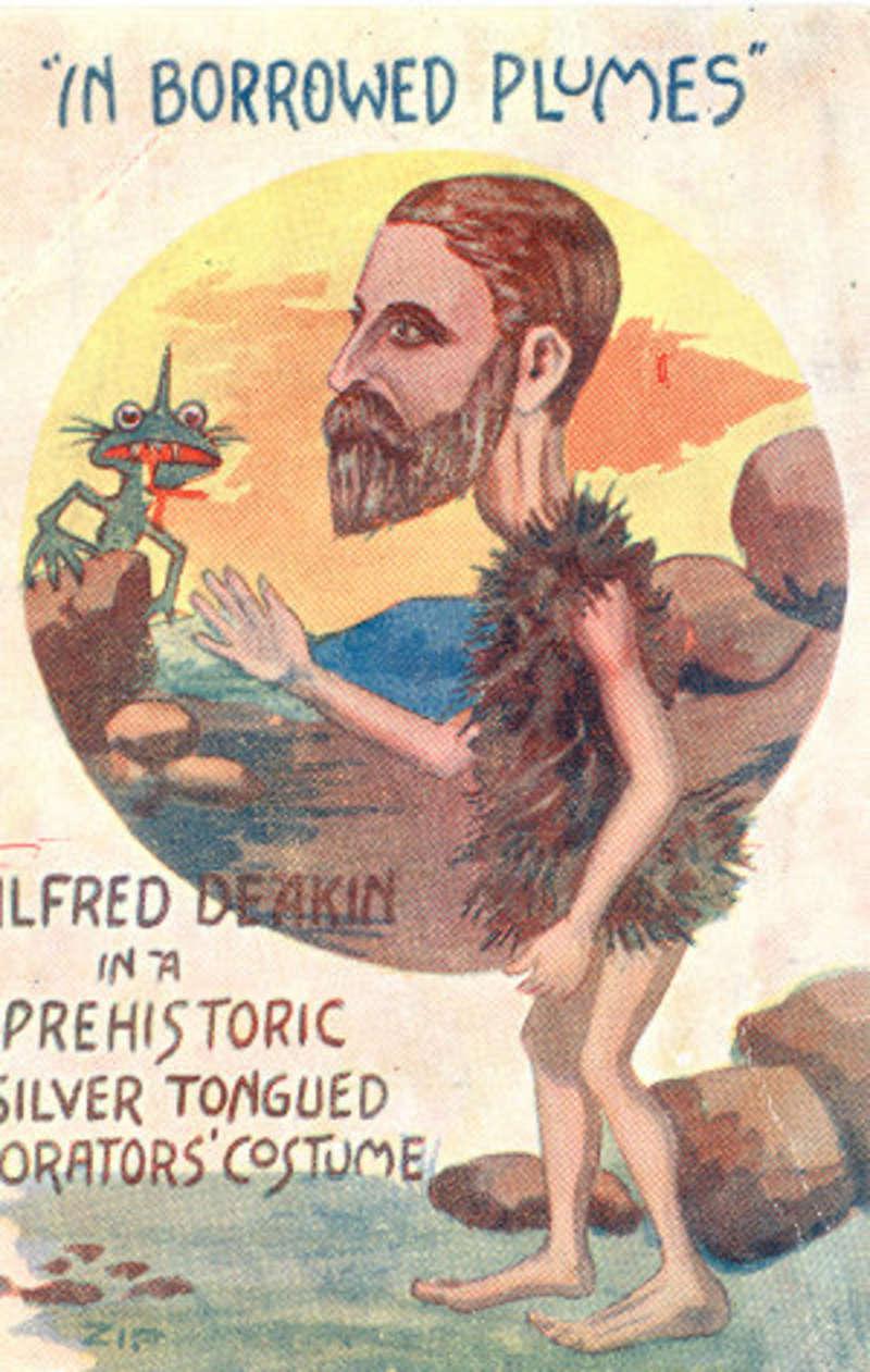 Postcard of Alfred Deakin