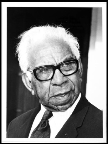 Sir Douglas Nicholls was appointed Governor of South Australia in 1976, the first Indigenous Australian to hold viceregal office. National Library of Australia.