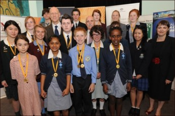Awards ceremony for the National History Challenge with the Hon Peter Garrett, AM, MP, Minister for School Education, Early Childhood and Youth; the Hon Warren Snowdon, MP, Minister for Veterans' Affairs, Defence Science and Personnel and Indigenous Health; and the Hon Nicola Roxon, MP, Minister for Health and Ageing.