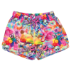 Picture of Psychedelic Collage Plush Shorts