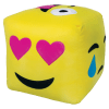 Picture of Emoji Cube 3D Embroidered Pillow