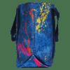 Picture of Paint Splatter Denim Tote Bag
