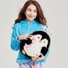 Picture of Holiday Penguin Furry Pillow