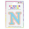 Picture of Nu Greek Letter Sticker Patch