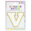 Picture of V Initial Varsity Sticker Patch