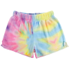 Picture of Pastel Tie Dye Plush Shorts