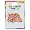 Picture of You Can Embroidered Sticker Patch