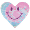 Picture of Happy Face Heart Glitter Scented Microbead Pillow
