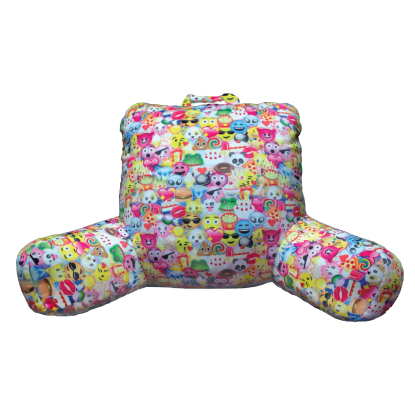 Picture of Emoji Collage Lounge Pillow