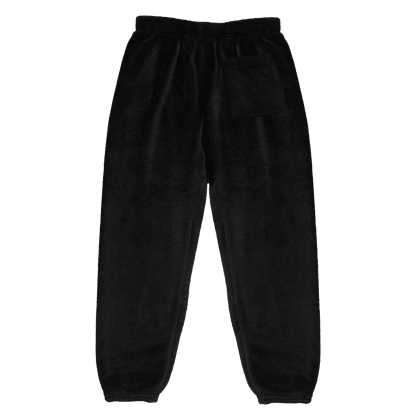 Picture of Black Plush Sweatpants