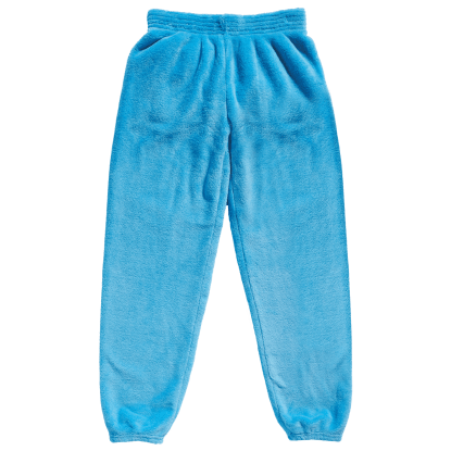 Picture of Blue Plush Sweatpants