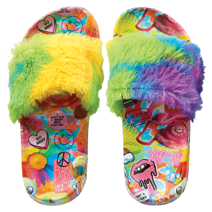 Picture of Psychedelic Collage Fur Slides