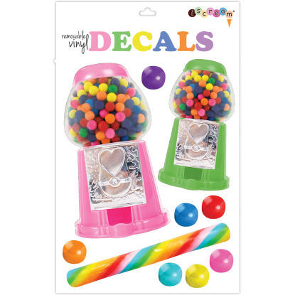 Picture of Candy Gumballs Decals Large