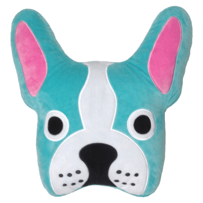 Picture of French Bulldog Embroidered Pillow
