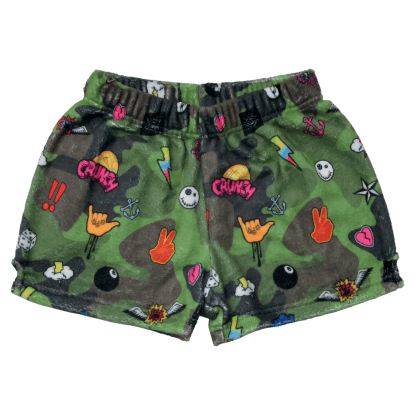 Picture of Camo Plush Shorts