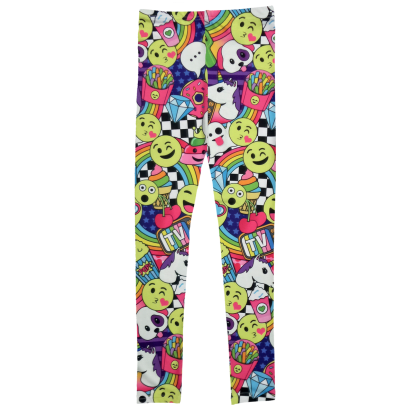 Picture of Emoji Party Leggings