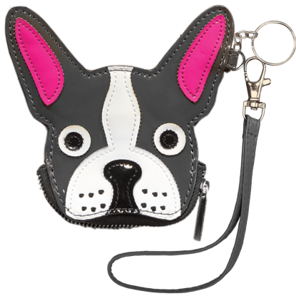 Picture of French Bulldog Purse Key Chain