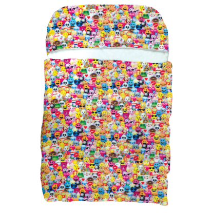 Picture of Emoji Collage  Sleeping Bag