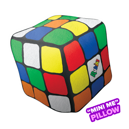 Picture of Mini Rubik's® Cube Scented Microbead Pillow