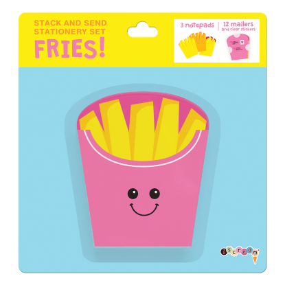 Picture of Fries Stack & Send Stationery