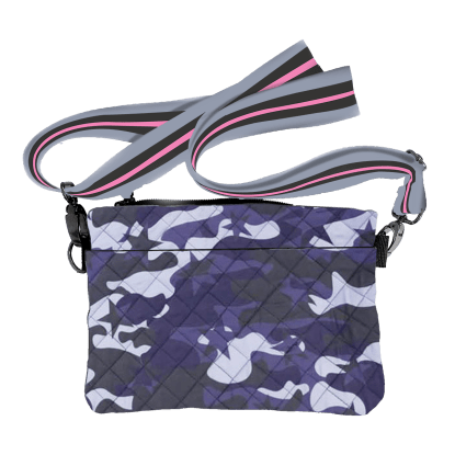 Picture of Midnight Blue Camo Crossbody Bag