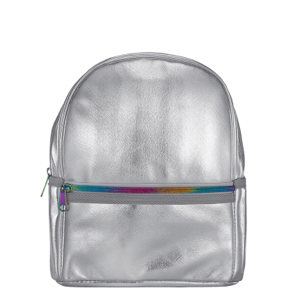 Picture of Silver Metallic Mini Backpack
