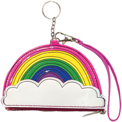 Picture of Rainbow Purse Key Chain