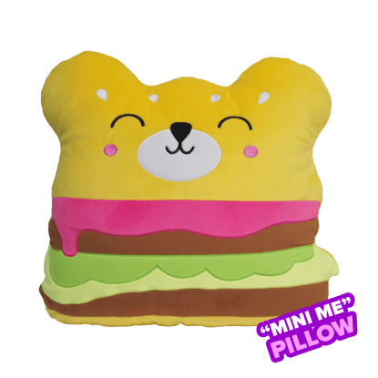 Picture of Mini Bear Burger Scented Foodie Pillow