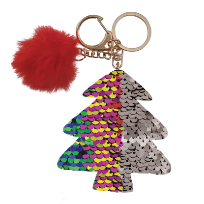 Picture of Multicolored Xmas Tree Clip