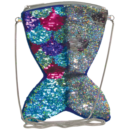 Picture of Mermaid Reversible Sequin Crossbody Bag