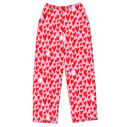 Picture of Lovin' Hearts Plush Pants