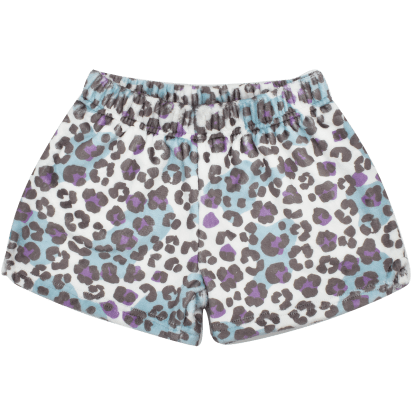 Picture of Snow Leopard Plush Shorts