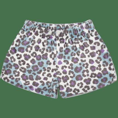 Picture of Snow Leopard Plush Shorts