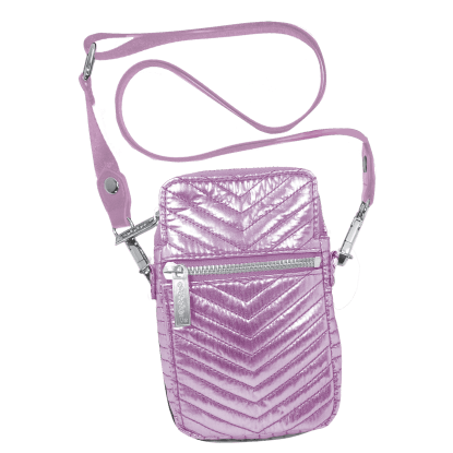Picture of Pink Chevron Cell Bag