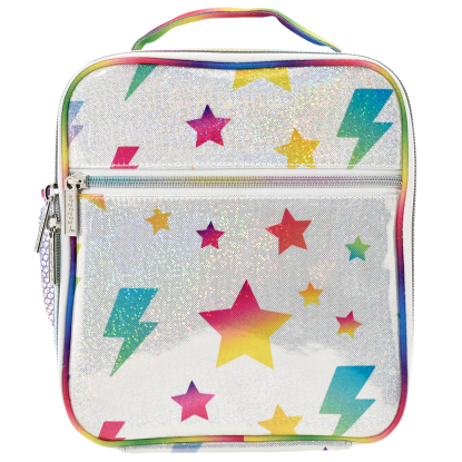 Picture of Stars and Lightning Glitter Lunch Tote
