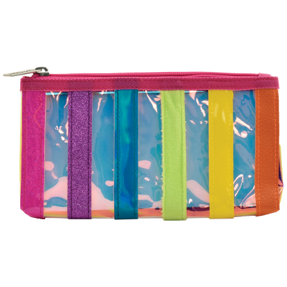 Picture of Iridescent Striped Pencil Case