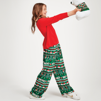 Picture of Ho Ho Ho Plush Pants