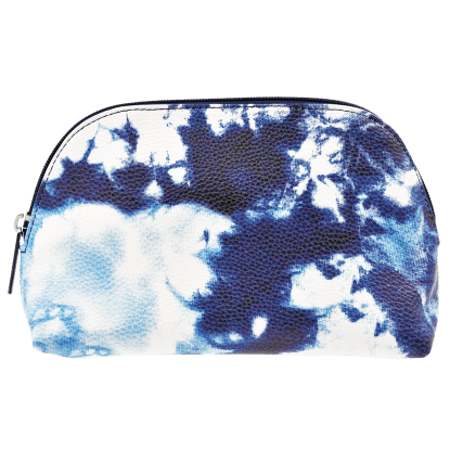Picture of Blue Tie Dye Small Cosmetic Bag