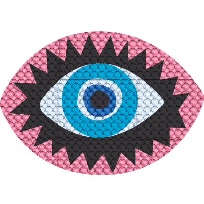 Picture of Eye Rhinestone Decal Large