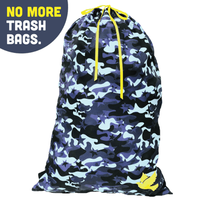 "Picture of ""No More Trash Bags"" Canvas Duffel Bag"