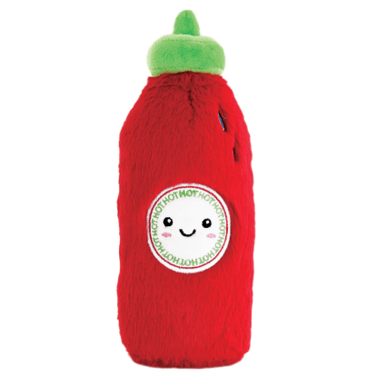 Picture of Hot Sauce Furry Pillow