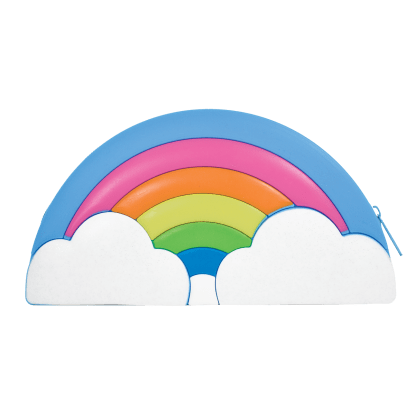 Picture of Rainbow Silicone Cosmetic Bag