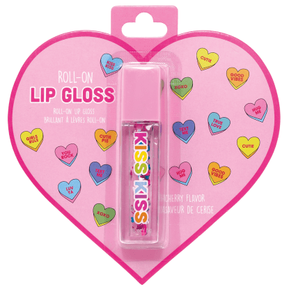 Picture of Floating Hearts Roll-On Lip Gloss