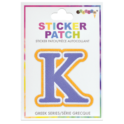 Picture of Kappa Greek Letter Sticker Patch