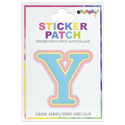 Picture of Upsilon Greek Letter Sticker Patch