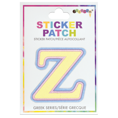 Picture of Zeta Greek Letter Sticker Patch