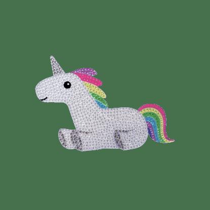 Picture of Rainbow Unicorn Rhinestone Decal Small