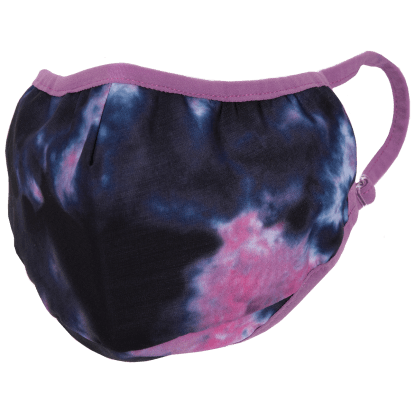 Picture of Indigo and Pink Tie Dye Face Mask