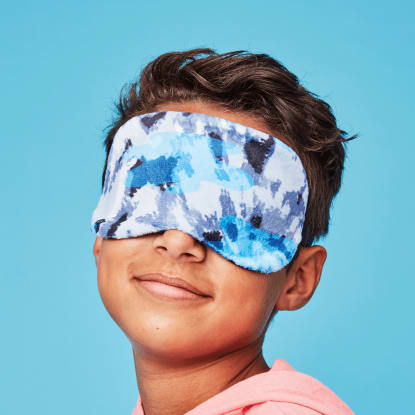 Picture of Blue Tie Dye Eye Mask